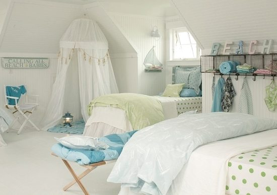 beach house kids bedroom
