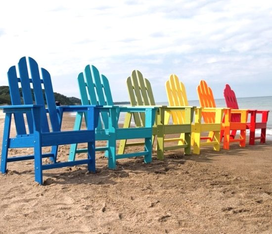 Adirondack beach chairs & Adirondack Beach Chairs - The Perfect Summer Chairs