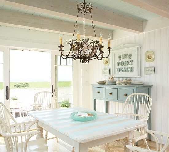 Maine beach cottage by Tracey Rapisardi