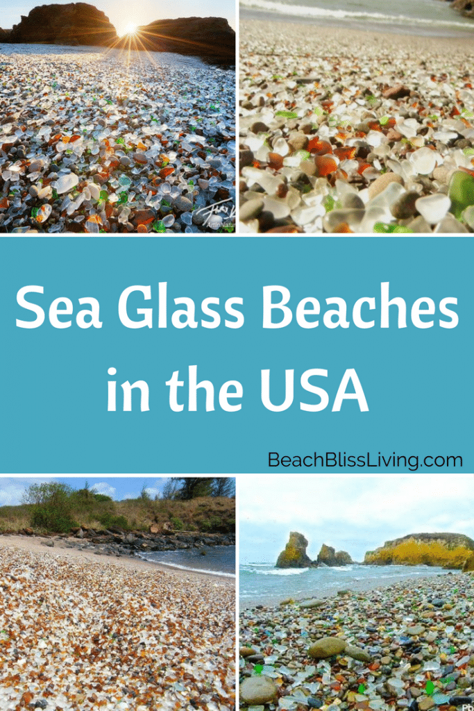 Take a peek at the best sea glass beaches in the USA!