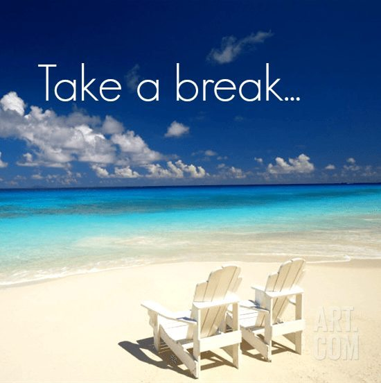 Image result for take a break on the beach