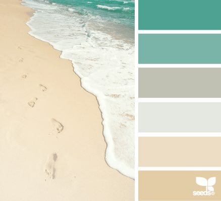 Nice Beach Sand And Sea Color Palette Part 21