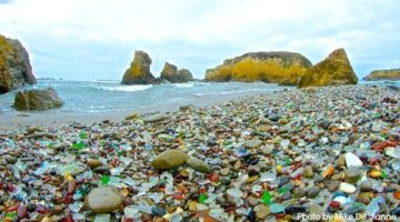 The Best Sea Glass Beaches in the United States