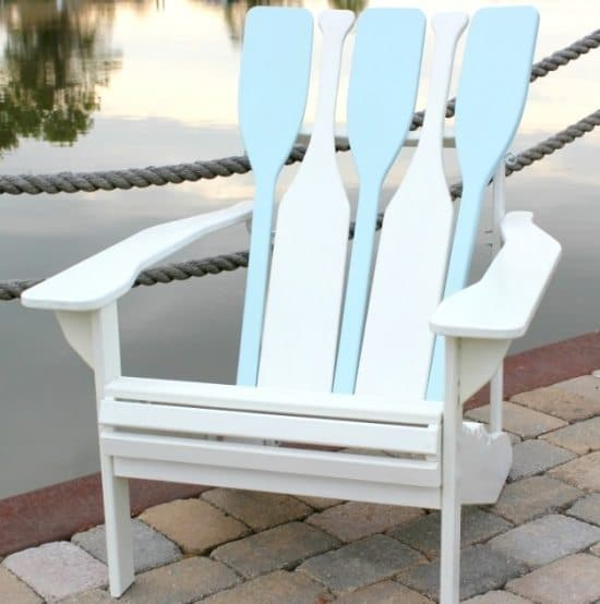 Adirondack oar chair