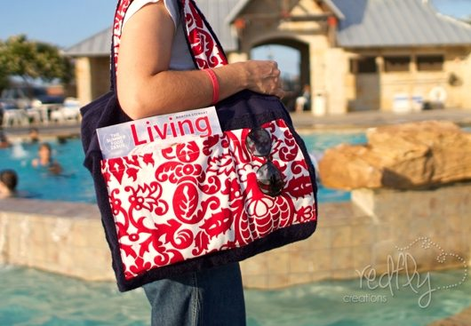 An Extremely Practical Beach Towel Tote Bag - Beach Bliss Living ...