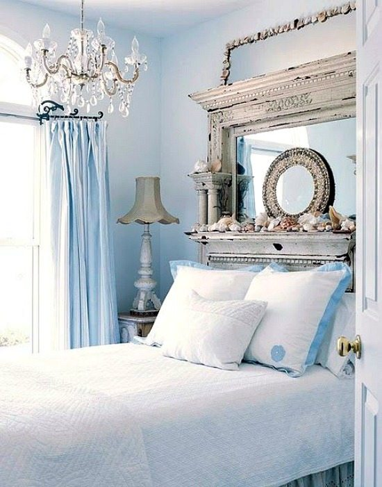 Beach Cottage Headboard Idea