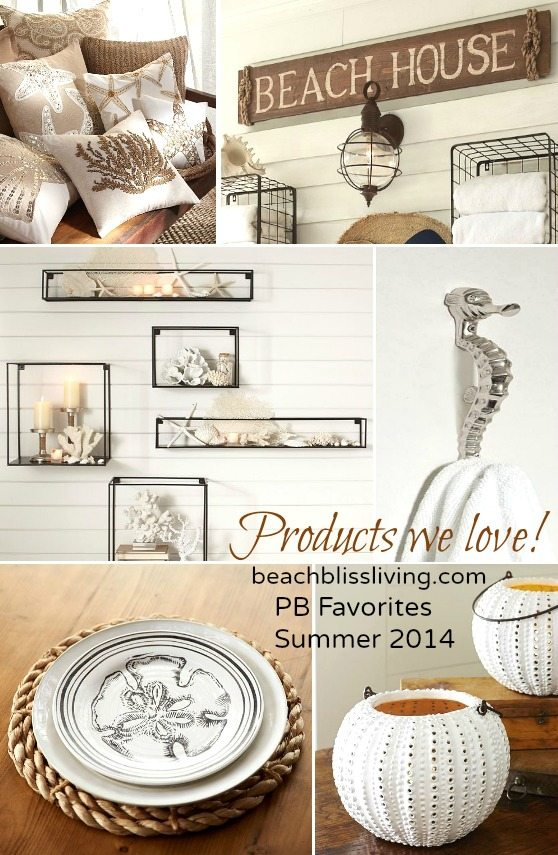 Beach Decor Pottery Barn Summer