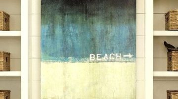 Soothe Yourself with Decorative Beach Word Art