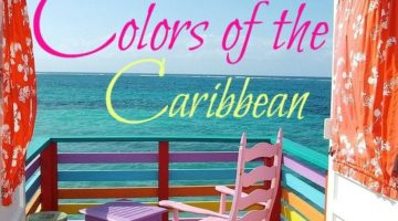 The Candy Colored Beach Cottages at Compass Point, Bahamas