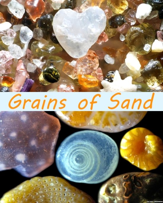 Grains of Sand Photograph