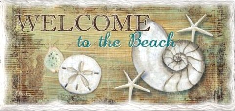 Welcome To The Beach Signs Beach Bliss Living