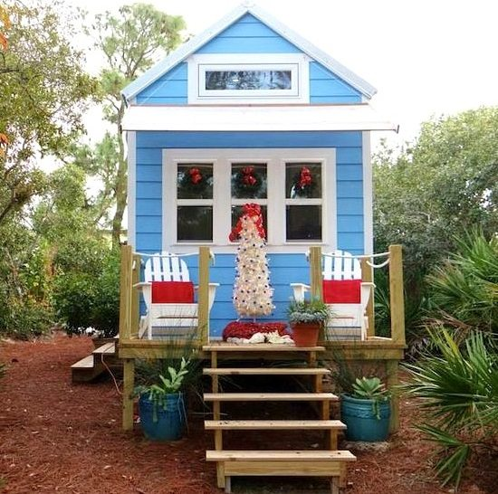 Tiny Rv Beach House Cottage Living On St George Island
