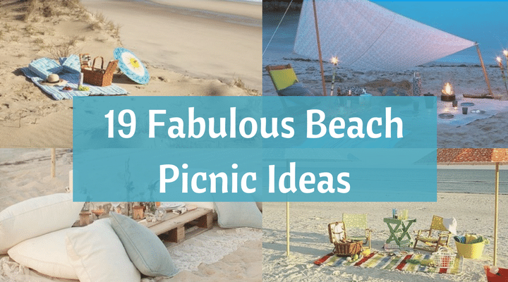Menu And Reception Set Up At Sibonne In The Turks And: 19 Fabulous Beach Picnic Ideas