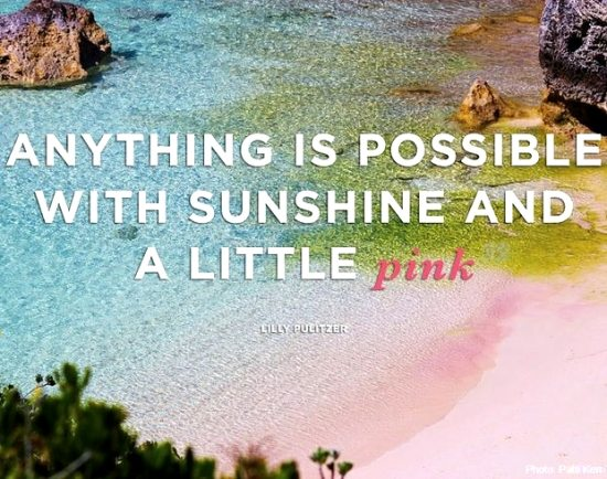 Lilly Pulitzer Quote Summer and Pink