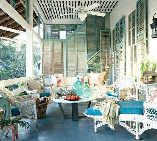 Southern Blue Porch