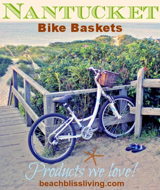Beach Bike Cruiser with Basket