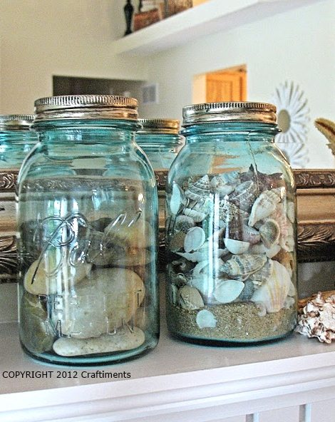 Beach Mantel Decor