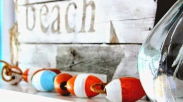 Beach Summer Mantels that Capture the Beauty of the Season