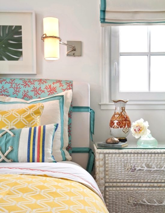Coral Cottage Bedroom
