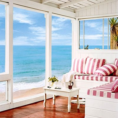 Crystal Cove Cottage Interior