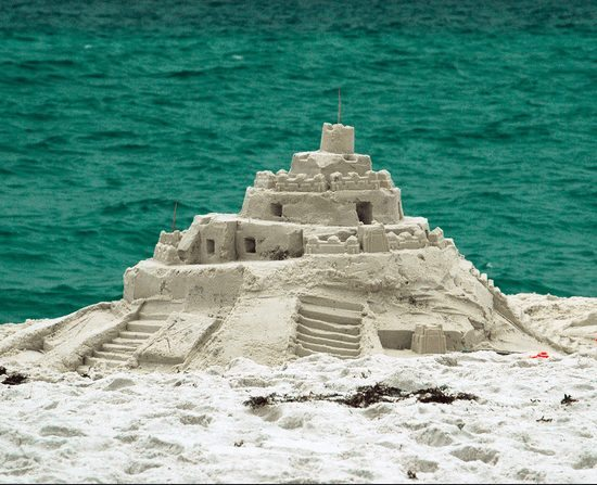 Amateur Sand Castle