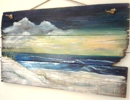 Affordable Original Sea amp Beach Paintings By Etsy Artists
