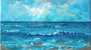 Affordable Original Sea & Beach Paintings by Etsy Artists