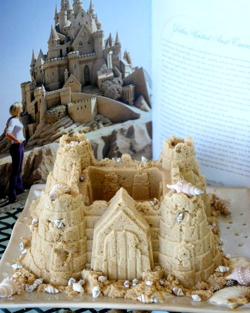 Sand Castle made of Sugar
