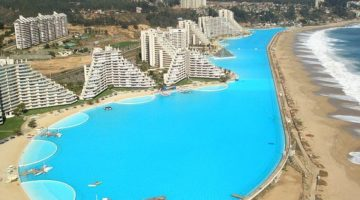 San Alfonso Del Mar Resort Has the Largest Artificial Beach Pool in the World