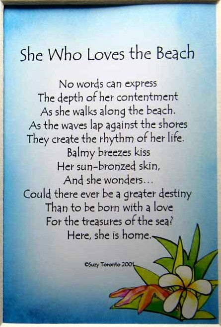 Beach Poems Suzy Toronto