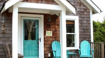 The Shingled Beach Cottages in Seabrook Washington Make for a Salty Getaway