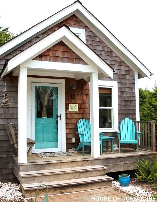 The shingled beach cottages in seabrook washington make Beach cottage house