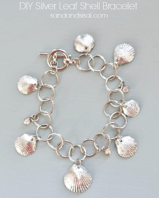 Seashell Charm Bracelet: How To Make Your Own Seashell Jewelry