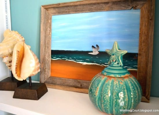 Beach Fall Decor