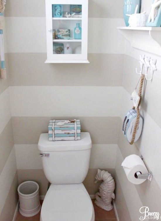 Beach Blue Powder Room
