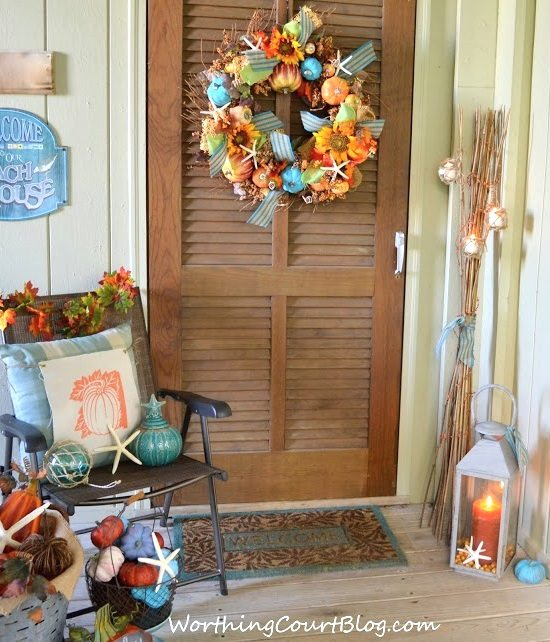 Beach Fall Porch