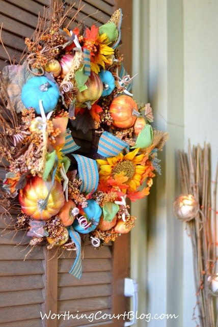 Beach Wreath for Fall