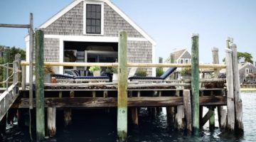 Beach Shack Living on a Pier in Provincetown, MA
