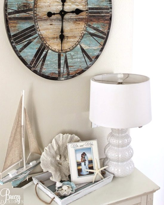 Beach Vignette with Tray