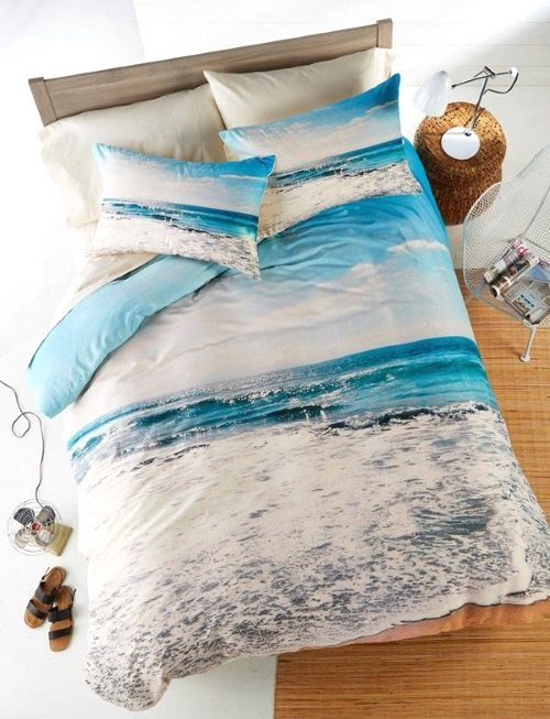 Ocean Beach Bedding by Dany