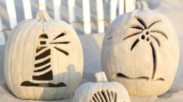 The Ultimate Pumpkins for a Beach Inspired Fall Season