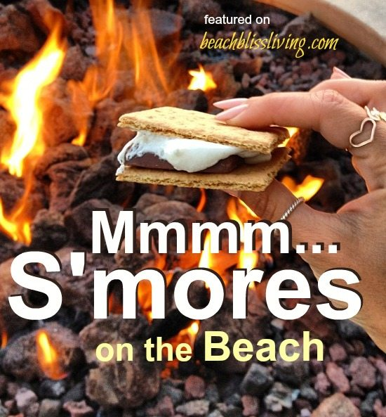 Smores on the Beach
