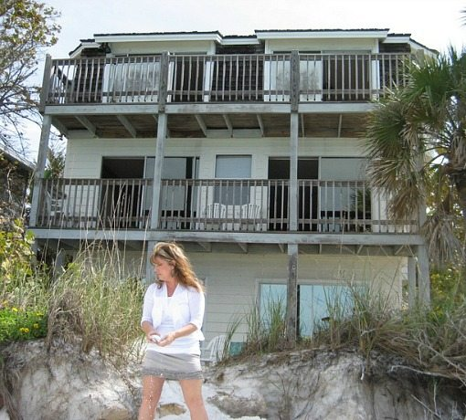 Florida Beach Cottage Before Remodel