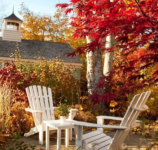Kennebunkport Maine Fall Foliage