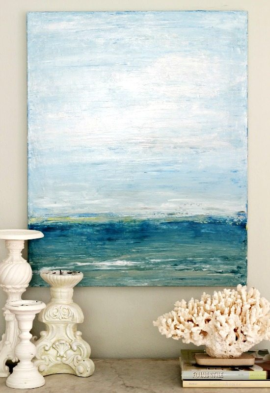 Palette Knife Beach Art