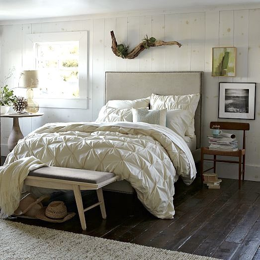 Driftwood above Headboard