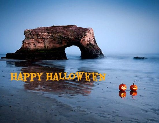 Happy Halloween from the Beach  Beach Bliss Living  Decorating and Lifestyle Blog - Coolest Home Decor