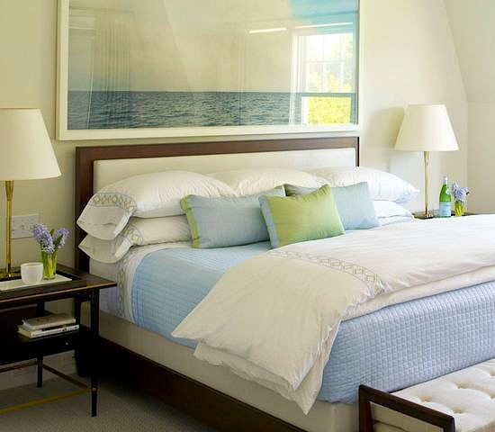 Awesome above the bed beach themed decor ideas - Over the bed art ...