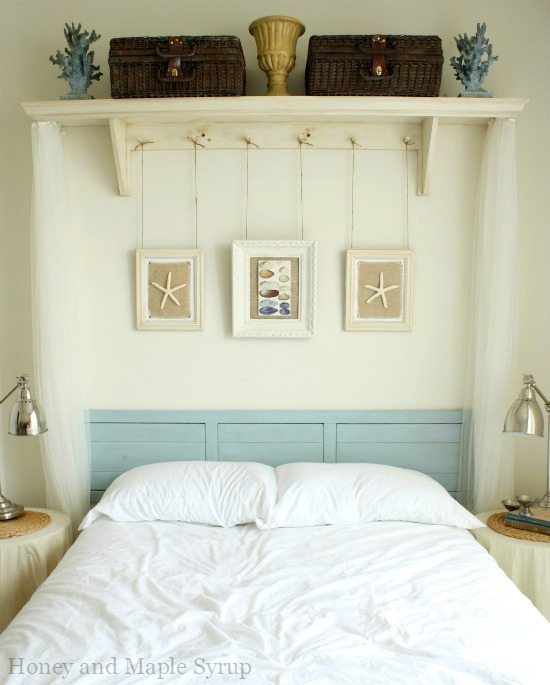 Awesome above the bed beach themed decor ideas for Decoration above bed