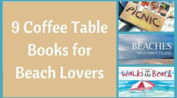 Beach gifts archives beach bliss living decorating and for Inspirational coffee table books